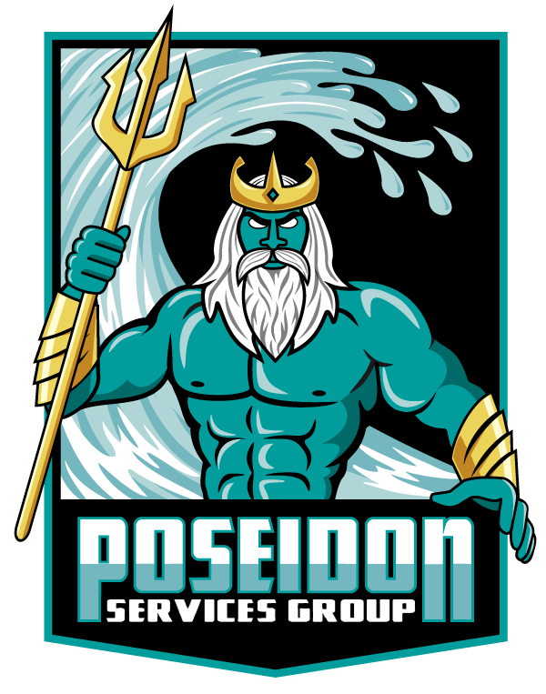 Local plumbers recommended - Poseidon Services Group logo