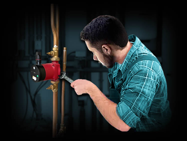 Trusted local plumber repairing a leak